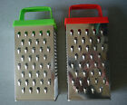 Universal Stainless Steel 4 Sided Box Metal Grater . For Cheese, Vegetables. NEW