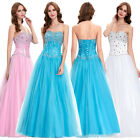 2017 Quinceanera Bridesmaid Formal Gown Ball LONG Party Cocktail Evening Dresses