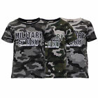 Boys Camouflage T Shirt Kids Military Army Print Short Sleeved Top Sport Summer