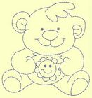 BABY THINGS RW-DESIGN 1-Anemone Machine Embroidery singles-3 sizes-75-100-125 mm