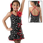 NEW Chica Boom Black Dance Tap Music Theatre Ballroom Latin Competition Costume