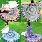Indian Hippie Round Beach Yoga Mat Tapestry Boho Picnic Throw Towel Wall Hanging