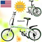 20 inch 6-Speed Foldable Folding Bike Cycling School Sports Durable#US SHIP