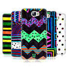 HEAD CASE DESIGNS COLOURED DOODLE PATTERNS BACK CASE FOR HUAWEI Y6 II COMPACT