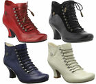 Womens Hush Puppies Vivianna Victorian Ankle Zip Up Boots Sizes 3 to 10