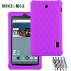 2016 Barnes & Noble Nook Tablet 7 inch Case Full Body Protection Silicone Rubber