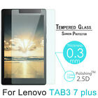Premium 9H Tempered Glass Screen Protector Film For Lenovo Tab 3 Tablet Series