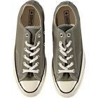 Converse Chuck Taylor All Star CT70 OX Lo Canvas Trainers Surplus Green Natural
