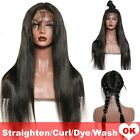 8A 1B Pre Plucked Brazilian Indian Malaysian Virgin Human Hair Lace Front Wig H2