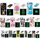 For iPhone 5 5s SE Fluorescent Glow In The Dark Soft Pop TPU Silicone Case Cover