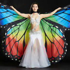 New Adult Girls Butterfly Belly Dance Costume Isis Wings Stage Show Dance Wear