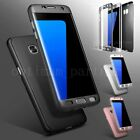 360 Degree Shockproof Full Body Hybrid PC Case Cover For Samsung Galaxy S7 Edge