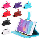 Luxury BOOK WALLET PU+PC Leather Phone Cover Case For SAMSUNG GALAXY NOTE 4