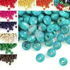 30g(Approx 800pcs)DIY Loose Round DIY Wood Spacer Beads Jewelry Findings 3x4mm