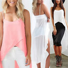 Fashion Summer Women Chiffon Loose Top Sleeveless Blouse Ladies Casual Tank Tops