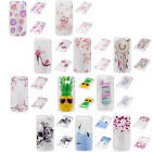 For Samsung Galaxy A5 (2017) A520 Transparent Painted Bumper Soft Silicone Cover