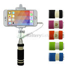 Lot Extendable Remote Selfie Stick Mini for Samsung Galaxy Note 1 2 3 4 5 6 7 8