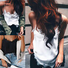 CHIC Fashion Women Summer Vest Top Sleeveless Casual Shirt Tops Blouse T-Shirt