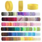 10 Meters Grosgrain Ribbon 6/10/15/20/25/38mm Craft Bows Wedding Party 40 Colors