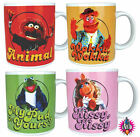 BRAND NEW BOXED KERMIT MISS PIGGY FOZZIE ANIMAL MUPPETS MOVIE COFFEE TEA MUG CUP