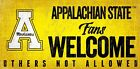 Fan Creations NCAA Fans Welcome Sign Wall Décor
