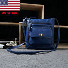 Leather Handbag Shoulder Lady Cross Body Bag Women Tote Messenger Satchel Purse