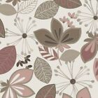 TAUPE AND BLUSH - FLOWER BED - NEUTRAL GROUND - MAYWOOD STUDIOS - 100% cotton