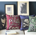 """Cushion Cover Movie Posters Pirates Of The Caribbean Pillow Case Square 45cm 18"""""""