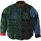 MANASTASH LOGGER DOWN SHIRT JACKET MULTI