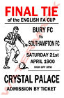 Southampton - Vintage Football Poster POSTCARDS - Choose from list