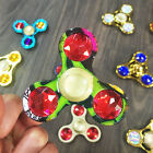 Electroplating alloy diamonds Hand Spinner ADHD tri spinners Fidget Toy For kids