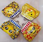 Lot cartoon Smiling face Children Coin Wallet Hasp package Party Gifts P695