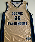 GEORGE WASHINGTON COLONIALS YOUTH BASKETBALL JERSEY NCAA #25 NEW! YOUTH M ,L, XL
