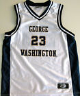 GEORGE WASHINGTON COLONIALS YOUTH BASKETBALL JERSEY NCAA #23 NEW! S, M, L OR XL