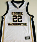 GEORGE WASHINGTON COLONIALS YOUTH BASKETBALL JERSEY NCAA #22 NEW! SM, MED, OR L