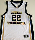 GEORGE WASHINGTON COLONIALS YOUTH BASKETBALL JERSEY NCAA #22 NEW! MEDIUM OR LG