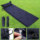Single Self Inflate Camping Mat Inflatable Pillow Sleeping Bag Mattress &BAG UK