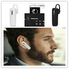 Wireless Bluetooth Stereo Handsfree Earphone For Iphone 5 6 7 Samsung Lg