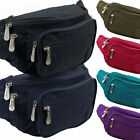 Mens Ladies Lorenz Crinkled Nylon Bum Bag Fanny Pack 6 Colours Travel Raves Hols