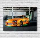 Toyota Supra Poster, Fast And Furious Print, Wall Art, Picture, Home Decor, #003
