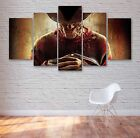 Freddy Krueger Movie 5 Panel Canvas, Horror,Wall Art, Picture, Multi Panel, #003