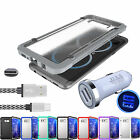 LED Car Charger + USB-C Cable + Shockproof Case Cover For Samsung Galaxy S8 Plus