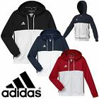 adidas Kids T16 Climalite Hoodies Boys Girls Sports Full Zip Hooded Jacket