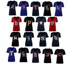 New Nike MLB Women's V-Neck Logo T-Shirt on Ebay