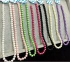 Fashion 8MM beautiful delicate pearl Necklace