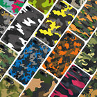 Camouflage Army Tarn Silikon Case Cover Hülle iPhone SE, 5, 5S, 6, 6S, 7, 7+