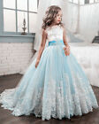 Hot NEW Flower Girl Pageant Dress Formal Ball Gown Princess Party Prom Birthday