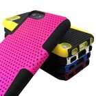 For Apple Ipod Touch 5 5g 5th Gen Apex Mesh Hybrid Gel Soft & Hard Case Cover