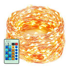 66FT 200LEDs Outdoor Holiday Lights Wedding Christmas Copper Wire String Lights