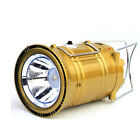 Portable Led Flashlight Solar Camping Lantern Rechargeable Emergency Tent Light